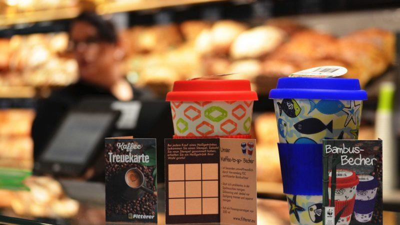 Kaffee Treuekarte Becher