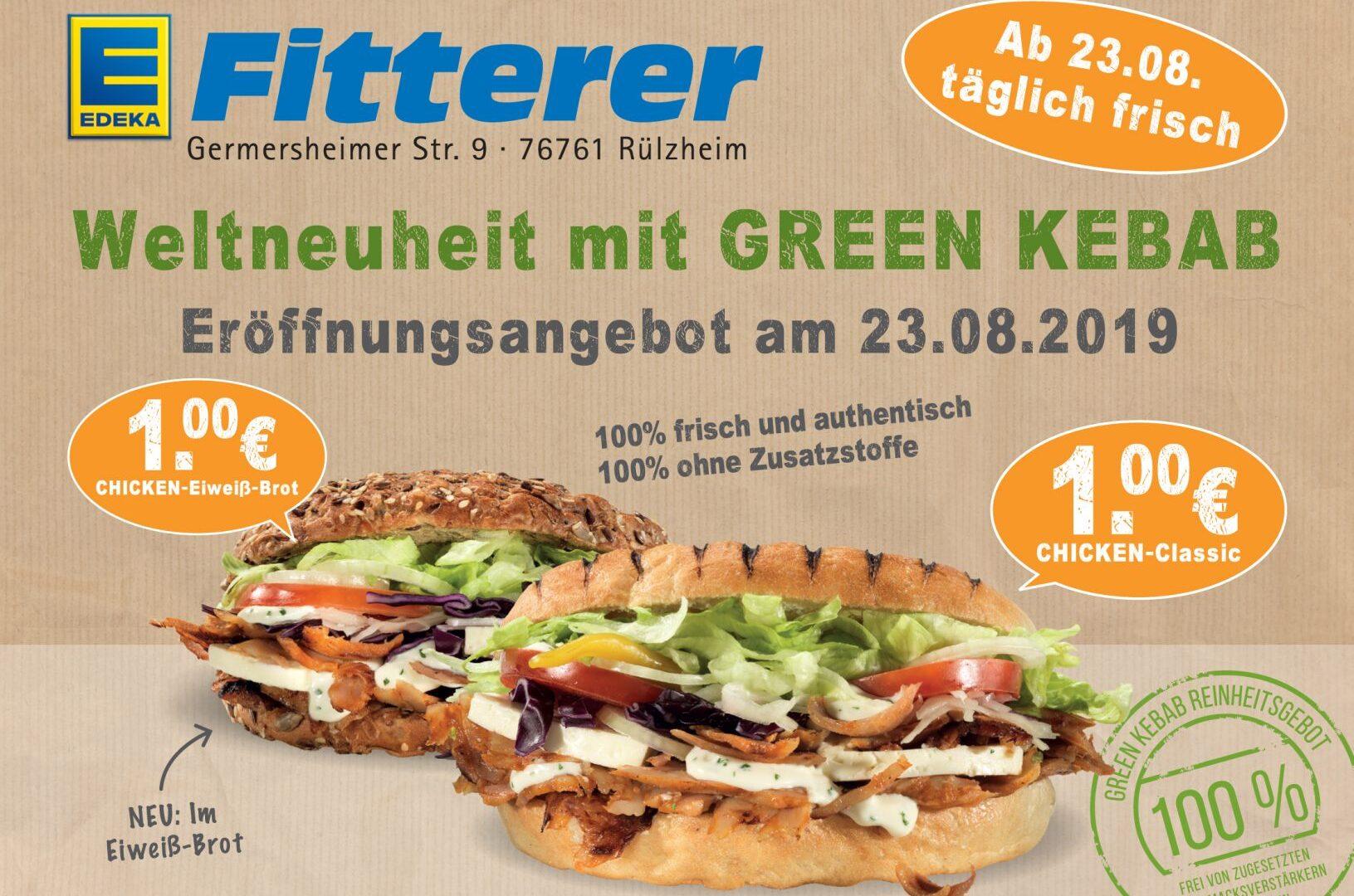 Green Kebab KW34